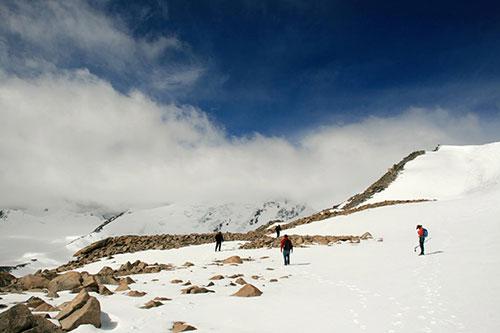 Climbing in Mongolia