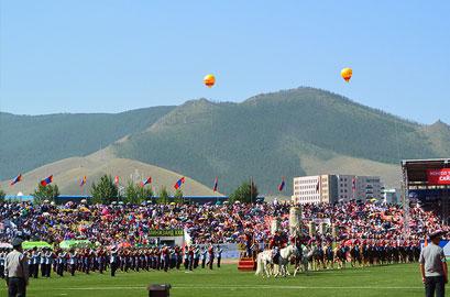 naadam opening ceremony
