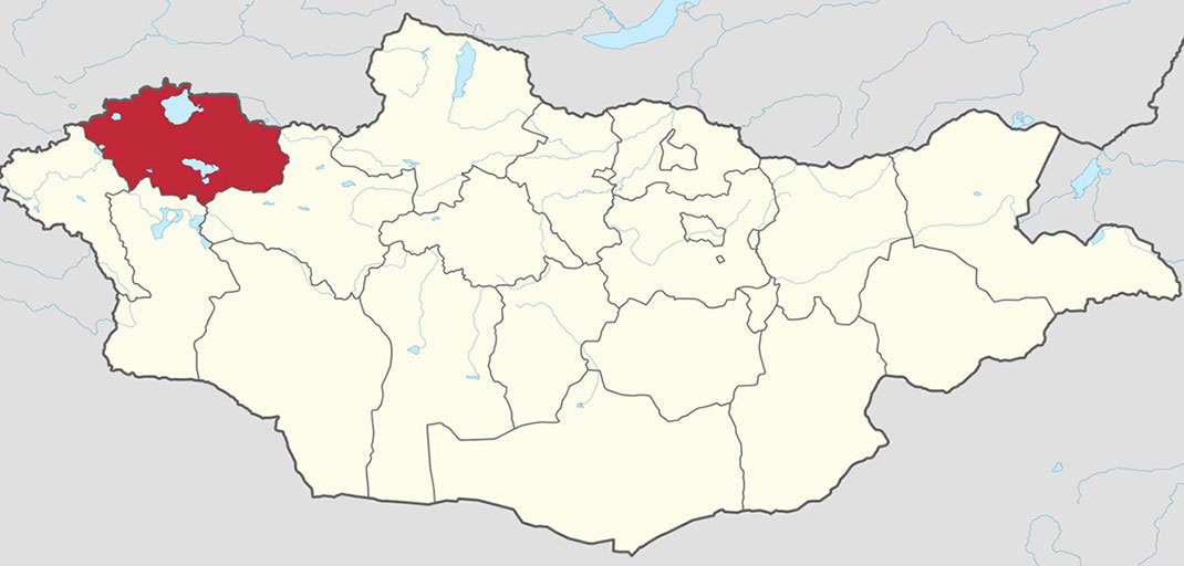 uvs province map