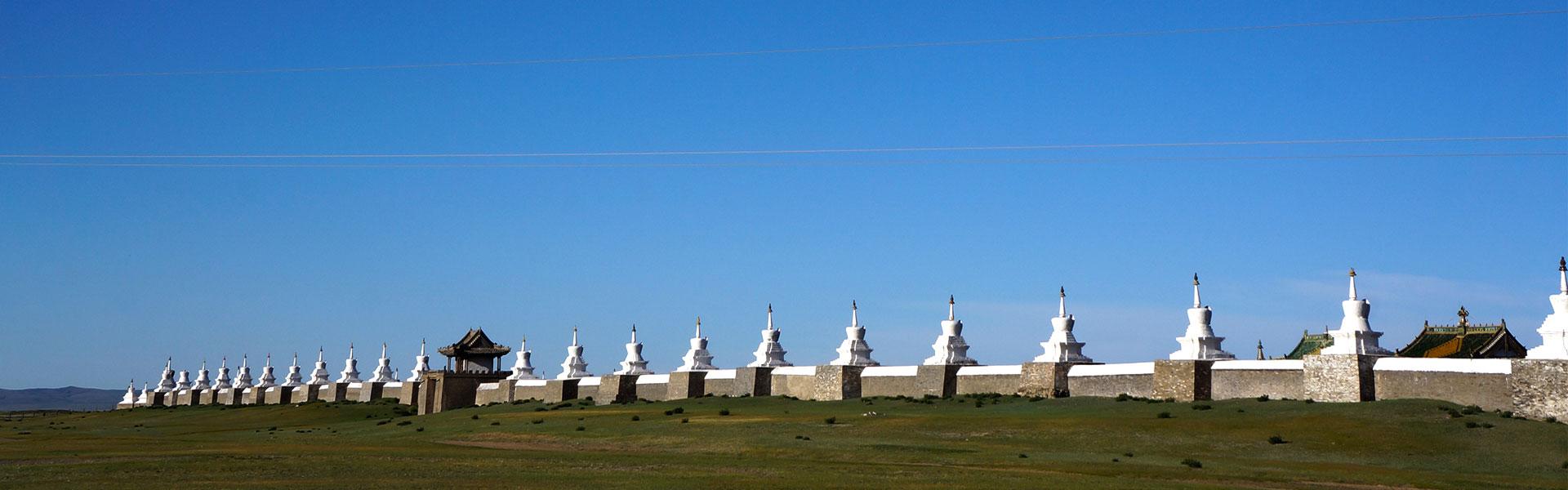 karakorum, erdenezuu, stupas