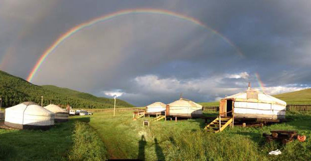 beautiful rainbow, mongolia travel, premium travel