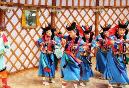 Mongolia Traditional Dance