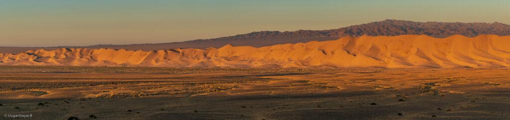 the gobi desert, khongor sand dunes